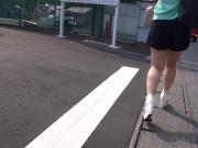 Sexy Legs Walk 003