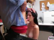 Shoplifter Alex Harper Gets Fucked In The Office
