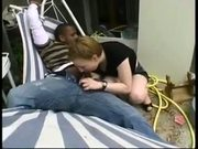 Rachel First Teases Then Gets Fucked By A Black Guy