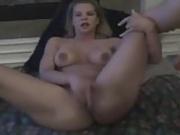 Blondi gets cum on her face