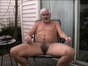 OUTDOOR WANKING, WINKING, & EATING PRECUM