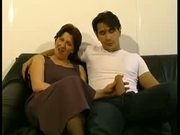 French Hairy Mature in Anal Casting