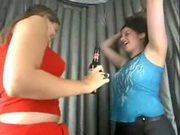Freakbox Kisses Lesbian Scene