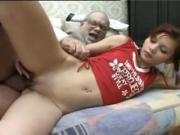 SB3 Cute Teen Gives Grandad A Load Of Satisfaction !