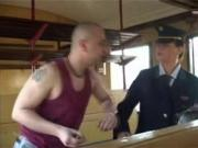 Mans fuck auditor in train hard czech porn