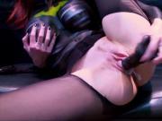 Sexy Milf Shanda Fay Dressed As Slutty BatWoman!
