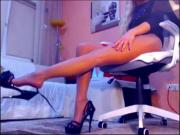 Financial Domination legs and feet teasing
