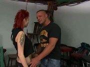 Busty Tattooed Redhead