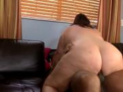 Latina BBW gets IR anal creampied