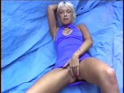 British slut Layla Jade plays with sextoy
