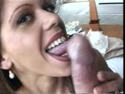 Nici Sucks Ben Dover's Big Cock