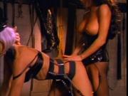 British slut Yvonne gets fucked in a classic FFM threesome
