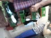 una abuela en el mercado