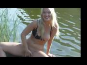 Amateur - Blond Outdoor Showoff