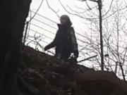 branlette au bord bois
