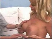 Hot Blonde Cougar Kat Kleevage