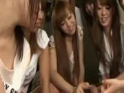 After school reverse gangbangs - part 2