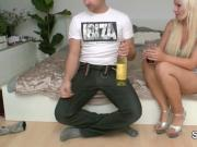 German Step-Sister seduce Bro to Fuck after Drink