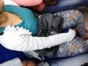 big boob in train indonesia part1