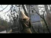 Blond Britney first video casting