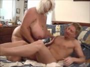 Big Titty BBW Blonde Suck N' Fucked Hard