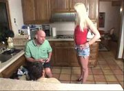 Blonde Milf BANGS TWO Hung Workers! Comment!