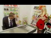 British Milf fucked in supermarket