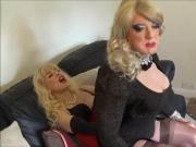 Angelique is fucked on Madame C's lap
