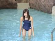MATSUYAMA Mami school swimwear