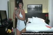 Eliana Franco Topless Wet T-shirt On Webcam