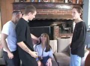 British Milf -Jenny Loveitt - Triple Penetration
