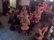 Watch strippers get ready