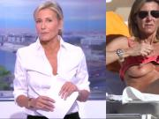 Claire Chazal TV and topless part1