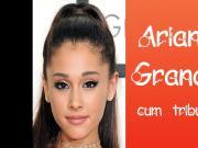 Ariana Grande - Cum Tribute #2 - Double 2x Cumshot