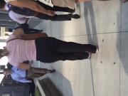 PAWG MILF in dress pants
