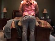 Kelli's Self Spanking