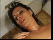 Euro slut brunette milf hot dp facial anal VDV