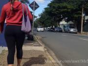 Morena bunduda gostosa na rua