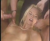 Katja Kean - Two cocks and facial M22