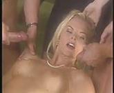 Katja Kean - Two cocks and facial M22