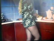 cooking in pantyhose 2
