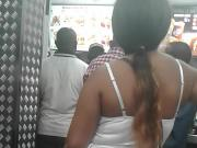 Ebony girl Ass Kfc