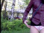 Girls Flash panties rus hunt 2015-p2