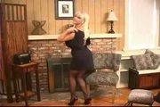 Hot Busty Mature Blonde Kandi Coxx Solo