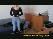 Casting - Big boobed Milf didn't expect anal