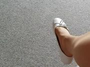 Meine alten weissen Ballerinas