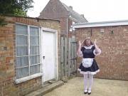 Sissy maid in the wind again