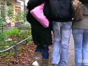 Streetcasting - Wir die Fickfotzen!!!