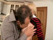Horny Step daughter's friend niki sand fucks in the Kitchen