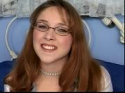 Teen Nerd Honey Gets Some Cock In Her Knot